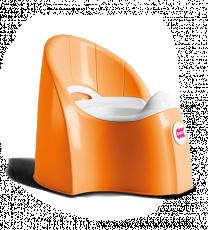 Горшочек Ok Baby Pasha оранжевый