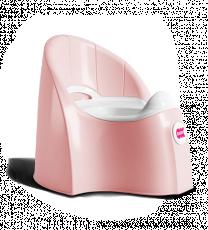 Горшочек Ok Baby Pasha светло-розовый