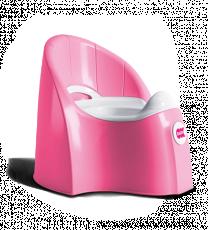 Горшочек Ok Baby Pasha розовый