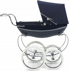 Коляска для кукол Silver Cross Oberon Navy