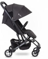 Прогулочная коляска Silver Cross Wing Powder Black